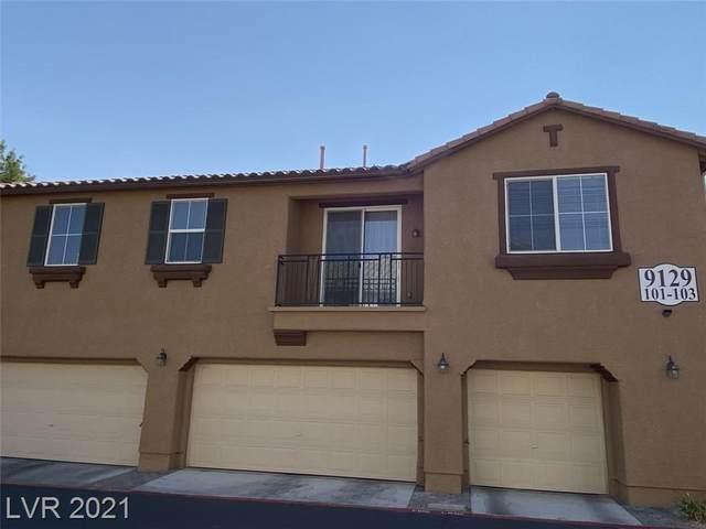 9129 Kona Peaks Court #101, Las Vegas, NV 89149 (MLS #2335548) :: Custom Fit Real Estate Group