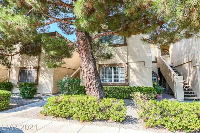 3660 Renovah Street #103, Las Vegas, NV 89129 (MLS #2335560) :: Lindstrom Radcliffe Group