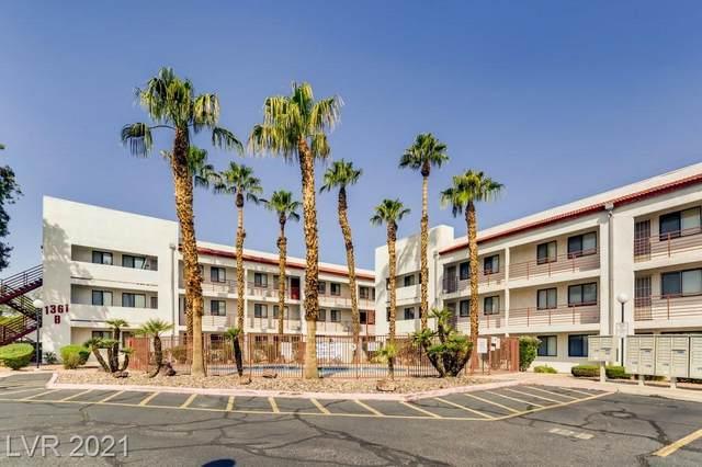 1361 E University Avenue #102, Las Vegas, NV 89119 (MLS #2335766) :: Jeffrey Sabel