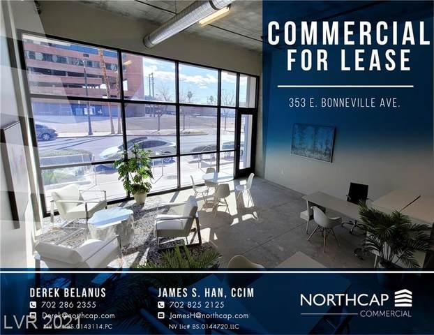 353 E Bonneville Avenue #173, Las Vegas, NV 89101 (MLS #2336055) :: Coldwell Banker Premier Realty