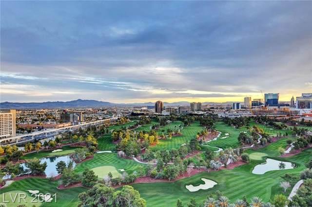 360 E Desert Inn Road #1703, Las Vegas, NV 89109 (MLS #2336080) :: The Melvin Team