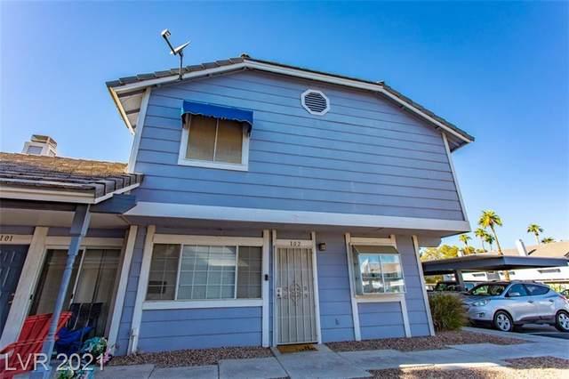 5861 Medallion Drive #102, Las Vegas, NV 89122 (MLS #2336212) :: Coldwell Banker Premier Realty