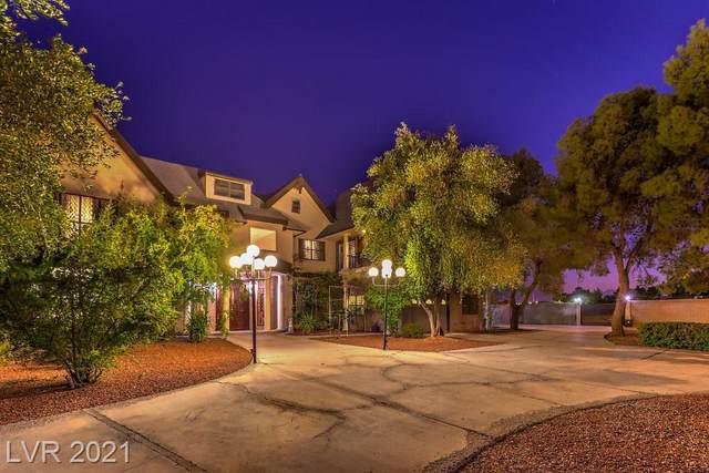 6480 Russell Road, Las Vegas, NV 89118 (MLS #2336498) :: Jack Greenberg Group