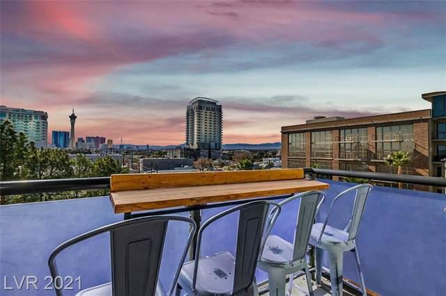 353 Bonneville #555, Las Vegas, NV 89101 (MLS #2336952) :: Coldwell Banker Premier Realty