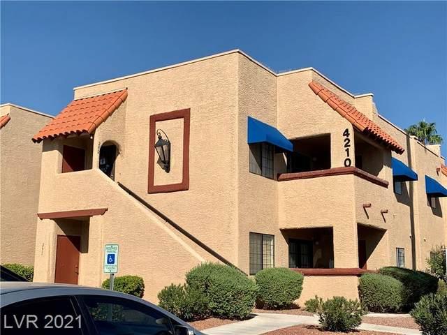 4210 Gannet Circle #296, Las Vegas, NV 89103 (MLS #2337126) :: 775 REALTY