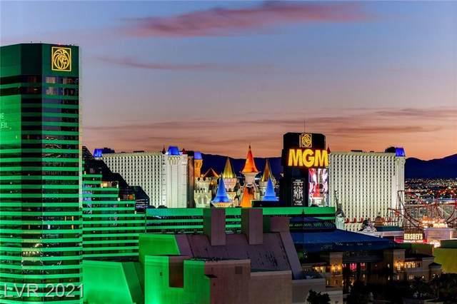 135 E Harmon Avenue #1602, Las Vegas, NV 89109 (MLS #2337233) :: Jeffrey Sabel