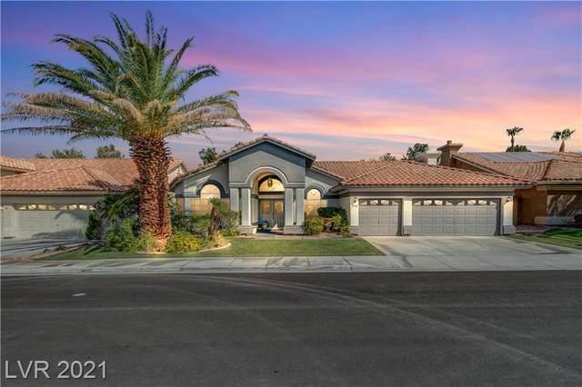 1440 Castle Crest Drive, Las Vegas, NV 89117 (MLS #2337266) :: Jeffrey Sabel