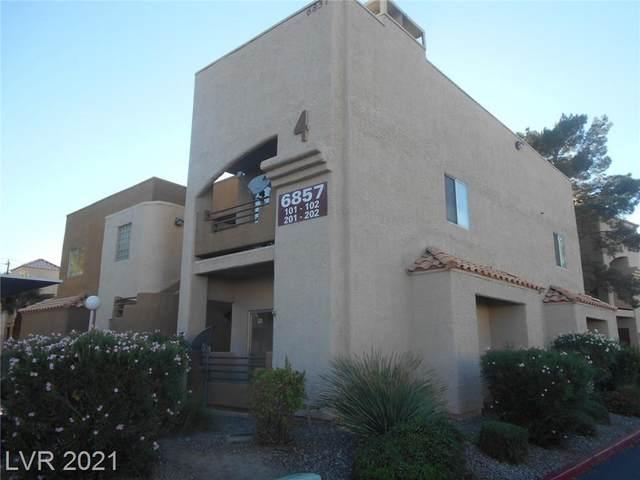 6857 Tamarus Street #101, Las Vegas, NV 89119 (MLS #2338061) :: Alexander-Branson Team | Realty One Group