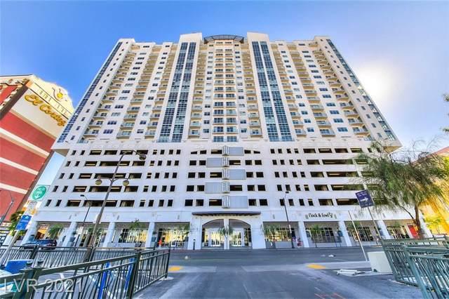 150 Las Vegas Boulevard #1018, Las Vegas, NV 89101 (MLS #2338289) :: Jeffrey Sabel