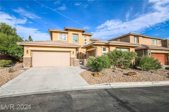 5460 Sawleaf Road, Las Vegas, NV 89135 (MLS #2338293) :: The TR Team