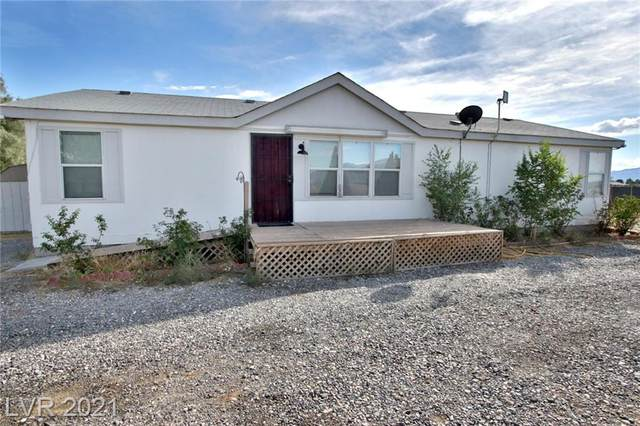 1231 W Irene Street, Pahrump, NV 89060 (MLS #2338567) :: Signature Real Estate Group