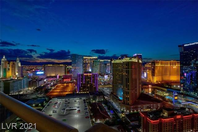 145 E Harmon Avenue #3017, Las Vegas, NV 89109 (MLS #2338799) :: Hebert Group | eXp Realty