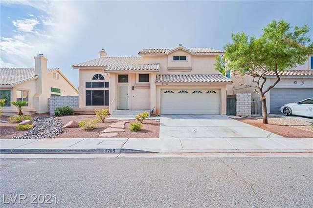 1705 Desert Ridge Avenue, North Las Vegas, NV 89031 (MLS #2338814) :: The TR Team