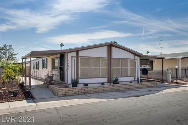 5461 Tres Piedras Road, Las Vegas, NV 89122 (MLS #2339895) :: Alexander-Branson Team | Realty One Group