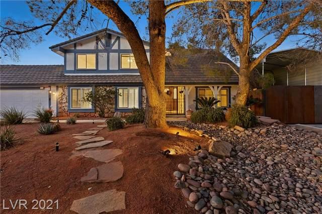 6662 Villa Bonita Road, Las Vegas, NV 89146 (MLS #2340280) :: Hebert Group | eXp Realty