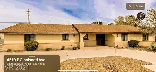 4510 E Cincinnati Avenue, Las Vegas, NV 89104 (MLS #2340451) :: Vegas Plus Property Management