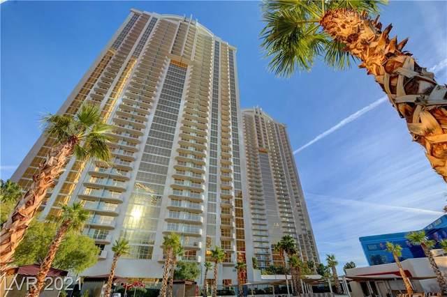 145 E Harmon Avenue #3308, Las Vegas, NV 89109 (MLS #2340477) :: Hebert Group | eXp Realty