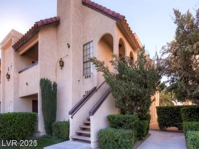 1751 E Reno Avenue #126, Las Vegas, NV 89119 (MLS #2340500) :: The Perna Group