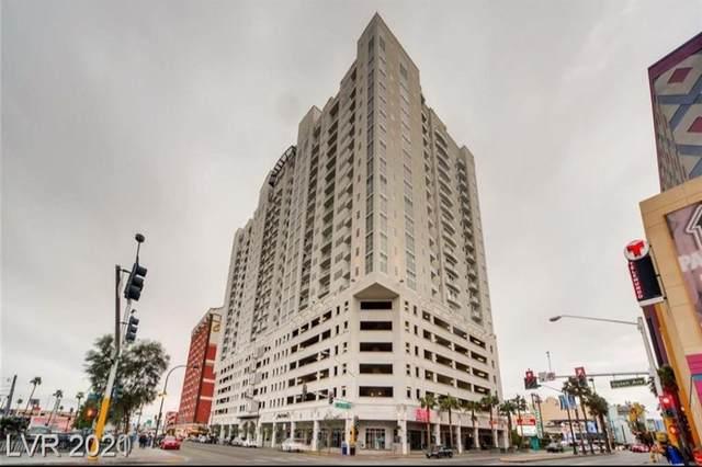 150 N Las Vegas Boulevard #813, Las Vegas, NV 89101 (MLS #2340711) :: The Perna Group