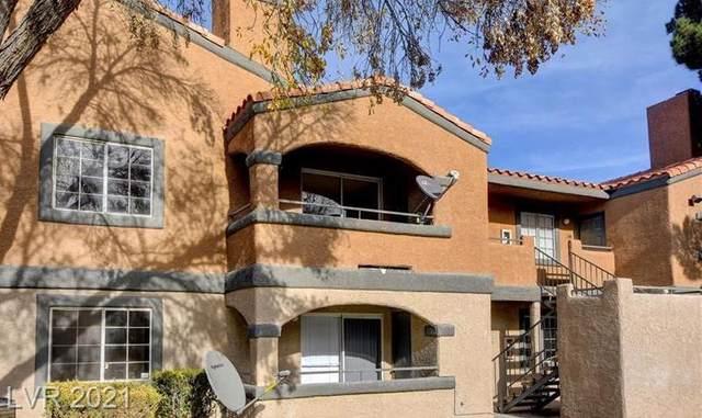5261 Mission Carmel Lane #207, Las Vegas, NV 89107 (MLS #2340862) :: Jeffrey Sabel