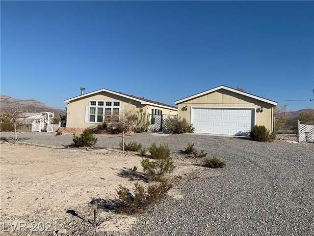 800 Fort Carson Road, Pahrump, NV 89060 (MLS #2340908) :: Signature Real Estate Group