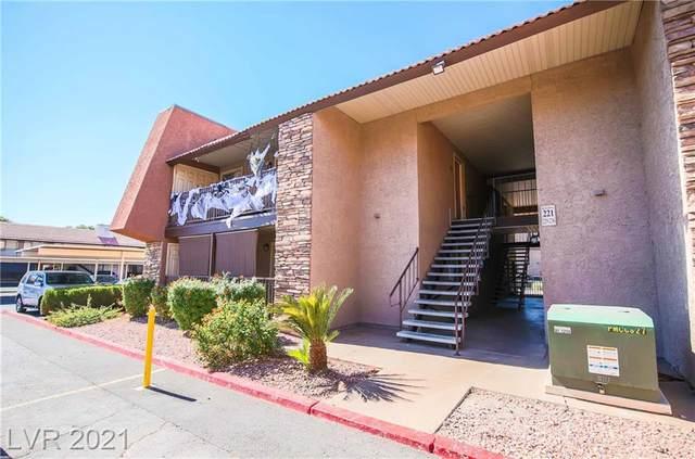 5321 River Glen Drive #231, Las Vegas, NV 89103 (MLS #2340924) :: The TR Team