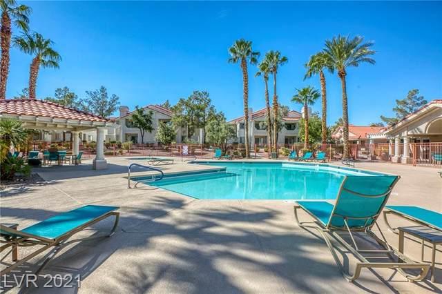 7810 Tenshaw Avenue #104, Las Vegas, NV 89145 (MLS #2341193) :: Jeffrey Sabel