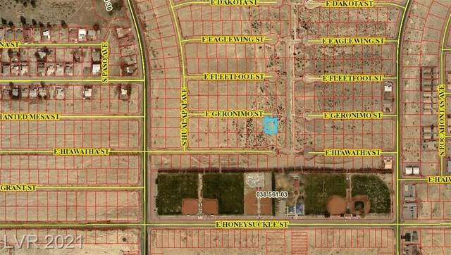 1601 Geronimo Street, Pahrump, NV 89048 (MLS #2341347) :: Coldwell Banker Premier Realty
