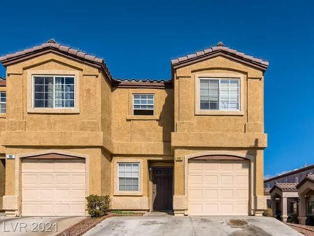 2620 Sierra Seco Avenue #101, Las Vegas, NV 89106 (MLS #2341437) :: The Perna Group