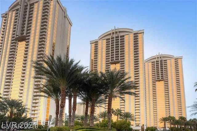 145 E Harmon Avenue #1706, Las Vegas, NV 89109 (MLS #2341580) :: The TR Team