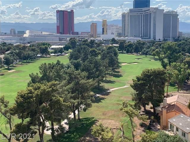 3111 Bel Air Drive 11E, Las Vegas, NV 89109 (MLS #2341620) :: The TR Team