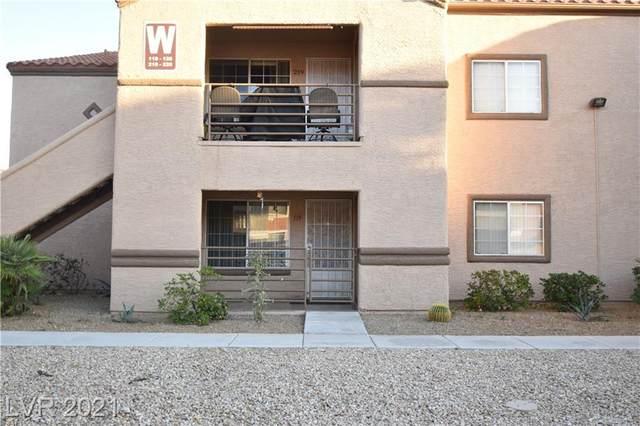 9070 Spring Mountain Road #119, Las Vegas, NV 89117 (MLS #2341627) :: Hebert Group | eXp Realty
