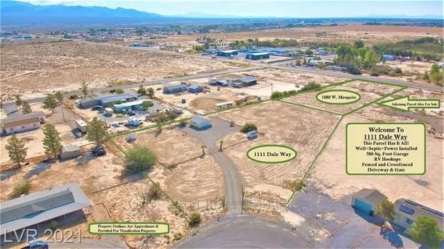 1111 W Dale Way, Pahrump, NV 89060 (MLS #2341716) :: Signature Real Estate Group