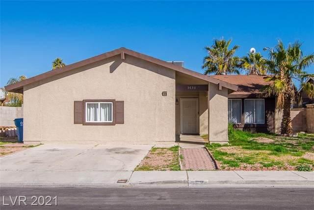 3636 Tempe Street, Las Vegas, NV 89103 (MLS #2341741) :: Jeffrey Sabel