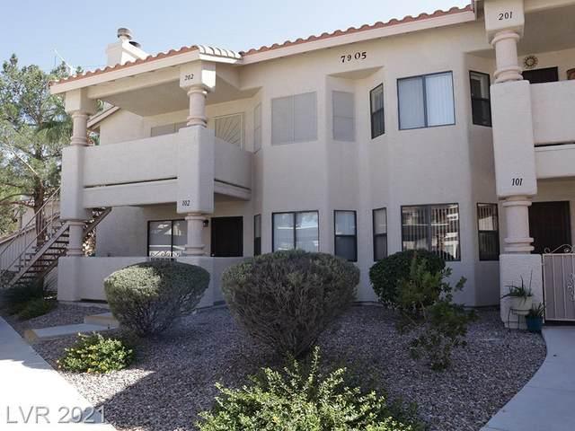 7905 Esterbrook Way #202, Las Vegas, NV 89128 (MLS #2341862) :: Alexander-Branson Team | Realty One Group