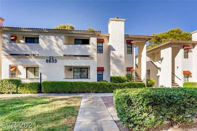 6633 W Tropicana Avenue #204, Las Vegas, NV 89103 (MLS #2342046) :: Jack Greenberg Group