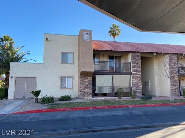 5040 Indian River Drive #418, Las Vegas, NV 89103 (MLS #2342344) :: Jeffrey Sabel