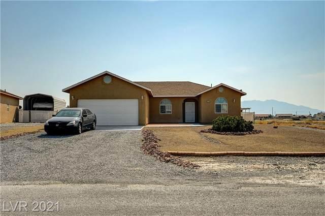 351 Happy Canyon Road, Pahrump, NV 89048 (MLS #2342421) :: The Wright Group