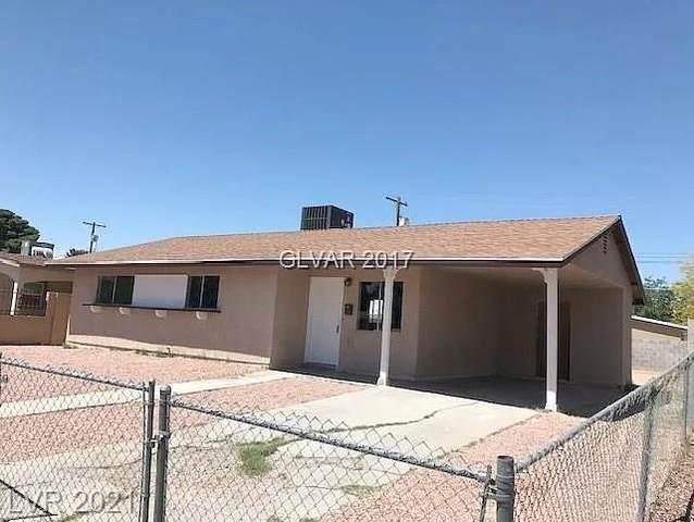 4021 Butte Circle, Las Vegas, NV 89110 (MLS #2342561) :: DT Real Estate