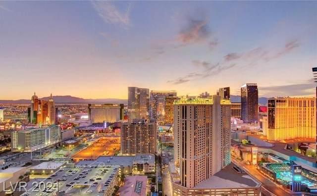 145 E Harmon Avenue #3315, Las Vegas, NV 89109 (MLS #2342940) :: DT Real Estate