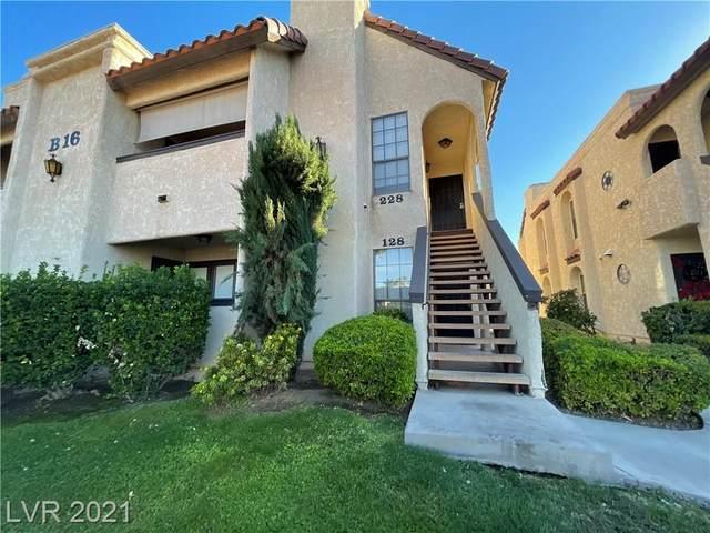 1751 E Reno Avenue #128, Las Vegas, NV 89119 (MLS #2343059) :: The Perna Group