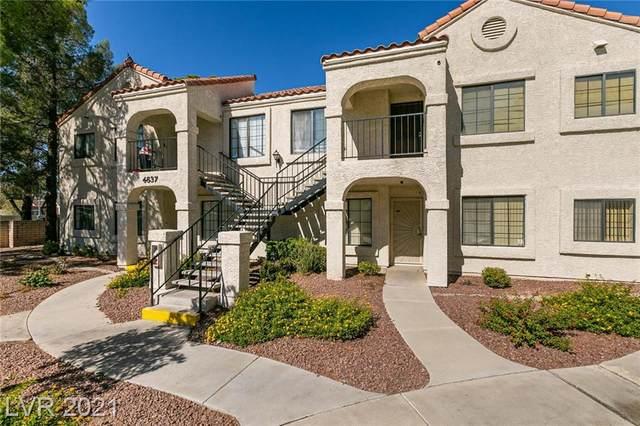 4837 Nara Vista Way #102, Las Vegas, NV 89103 (MLS #2343193) :: Signature Real Estate Group