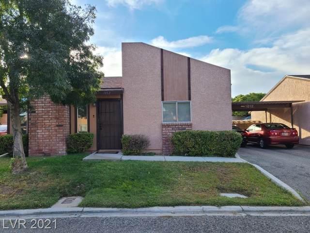 1812 Marathon Drive, Las Vegas, NV 89108 (MLS #2343400) :: DT Real Estate