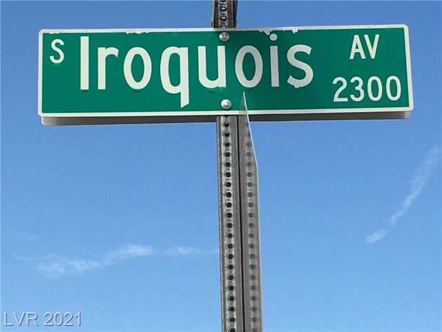 2160 Iroquois Avenue, Pahrump, NV 89048 (MLS #2343820) :: 775 REALTY