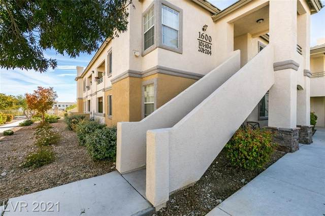 1600 Sussex Street #204, Las Vegas, NV 89144 (MLS #2343906) :: The Perna Group