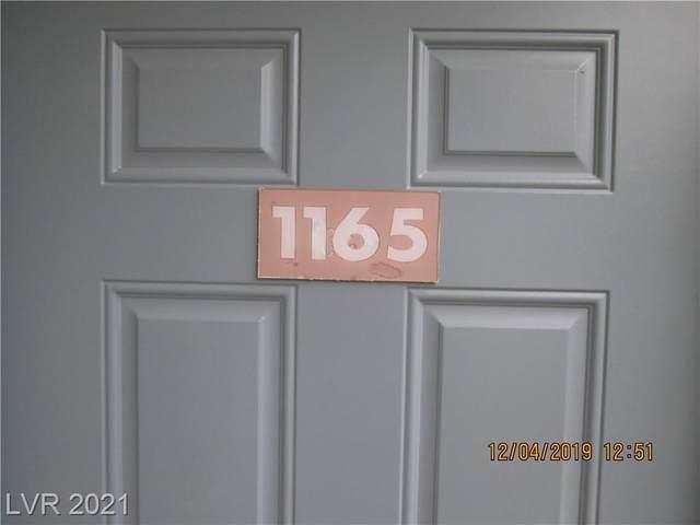 3318 N Decatur Boulevard #1165, Las Vegas, NV 89130 (MLS #2343913) :: Keller Williams Realty
