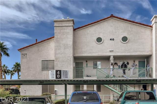 2725 S Nellis Boulevard #2165, Las Vegas, NV 89121 (MLS #2343954) :: Hebert Group | eXp Realty