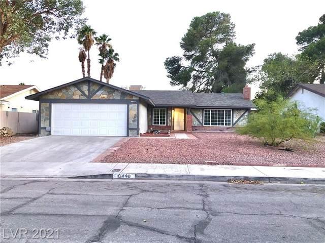 6449 Lori Court, Las Vegas, NV 89103 (MLS #2344241) :: The Shear Team