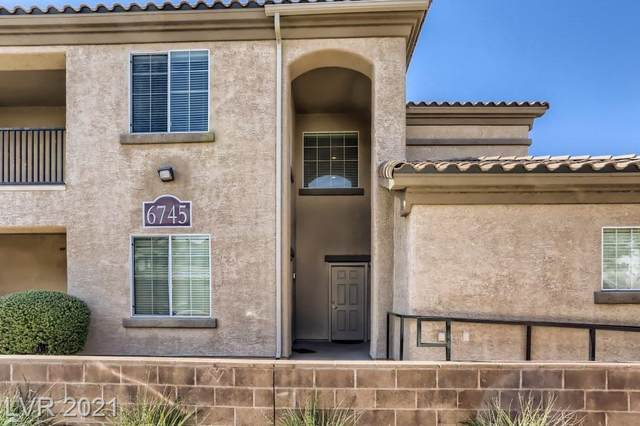 6745 Caporetto Lane #201, North Las Vegas, NV 89084 (MLS #2344293) :: 775 REALTY