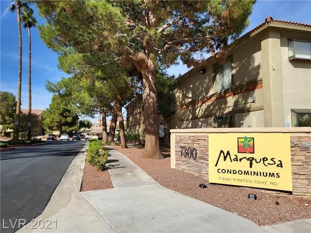 7300 Pirates Cove Road #1062, Las Vegas, NV 89145 (MLS #2344396) :: The Melvin Team